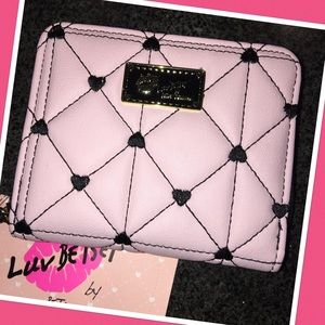 Betsey Johnson Pink Wallet
